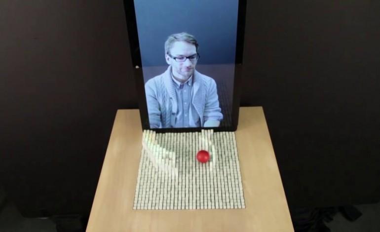 inFORM: Un display que permite interactuar a distancia