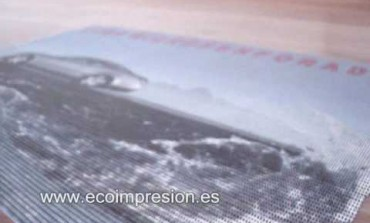 Lona microperforada