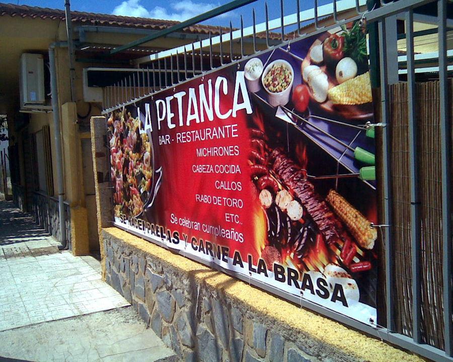 lonas publicitarias de restaurantes en Murcia