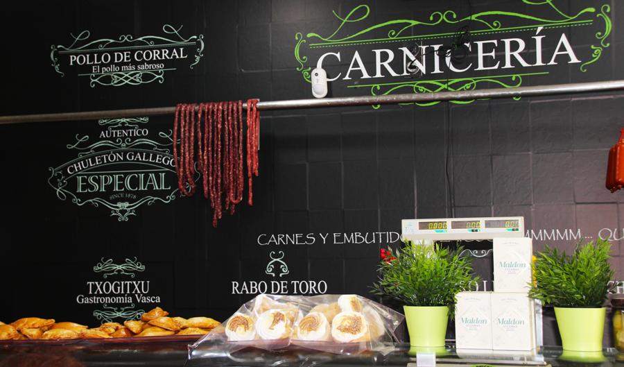 Decoración integral de Carnicería Don Pechugon en Los Alcázares Murcia