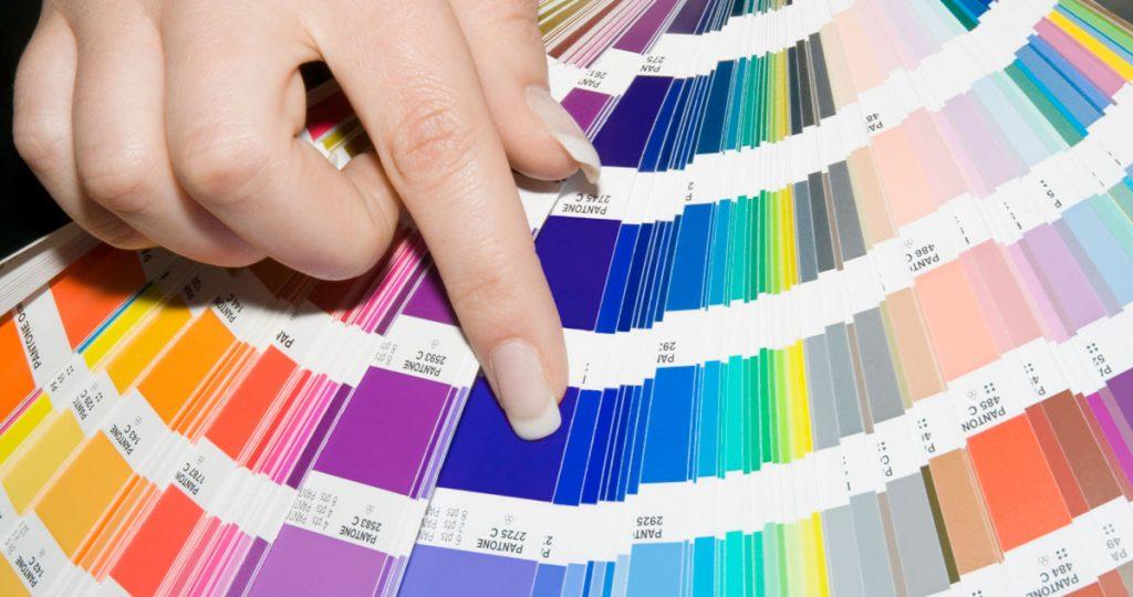 seleccionar un color pantone exacto para imprimir