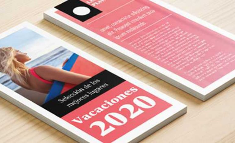 Qué mide un flyer: tamaños y medidas de un flyer.