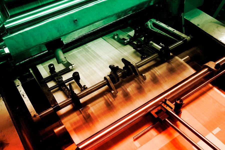 Imprenta máquina de imprimir