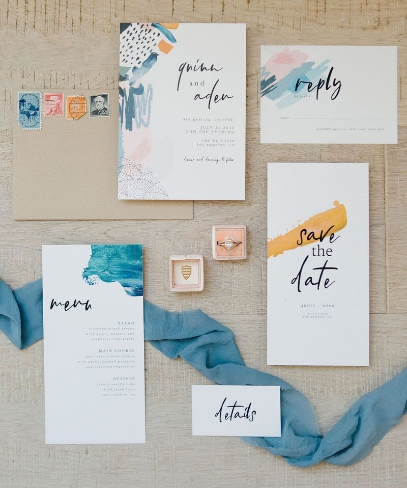 tarjetas de boda para imprimir