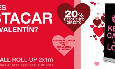 Photocall de San Valentín... ¡Con un 20% de descuento!