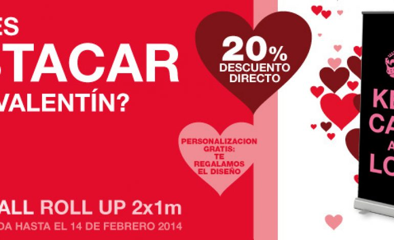 Photocall de San Valentín… ¡Con un 20% de descuento!