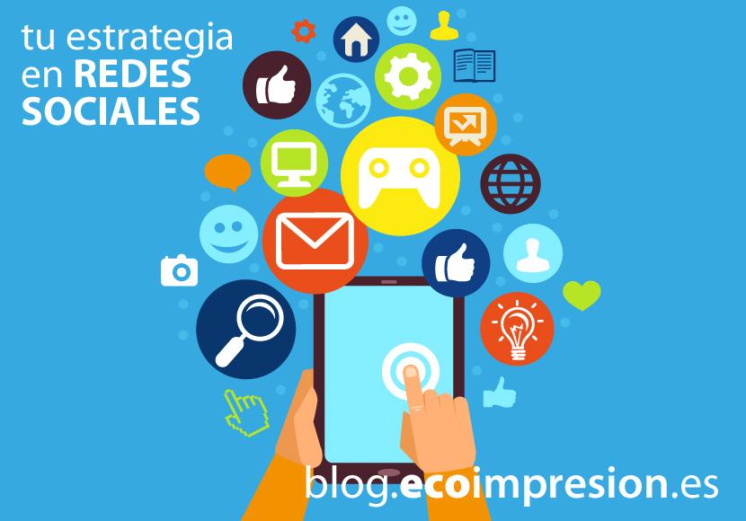 Estrategias de tu empresa en redes sociales