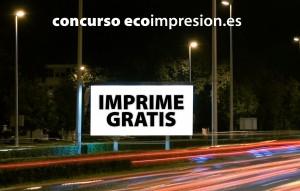 Concurso imprime gratis