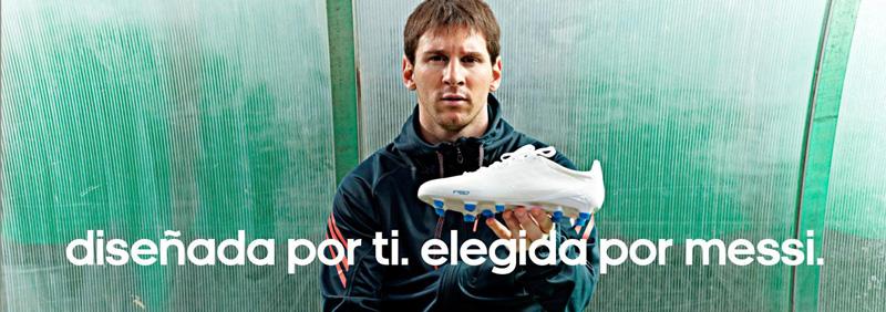 Publicidad con Messi