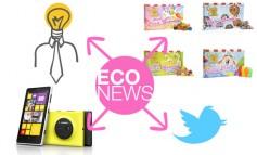 Eco News #3: Twitter, trabajo, chuches, megapíxeles...