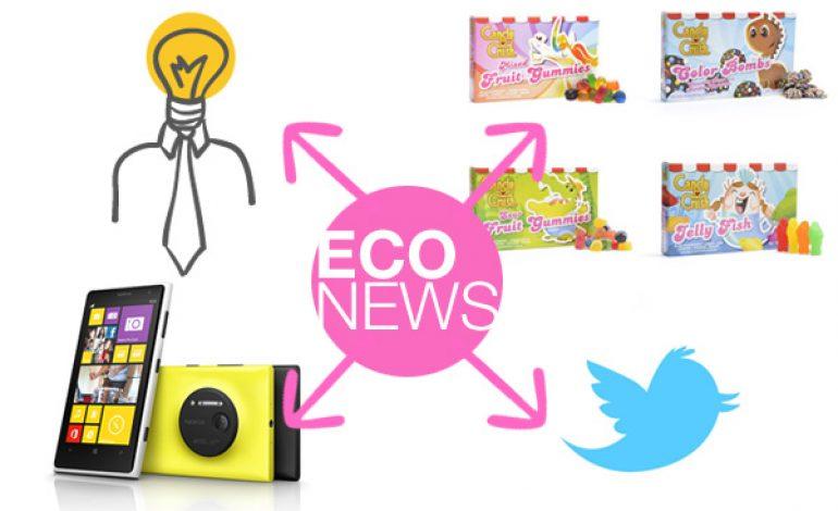 Eco News #3: Twitter, trabajo, chuches, megapíxeles…