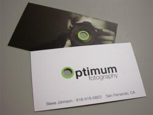 Diseño tarjeta publicitaria
