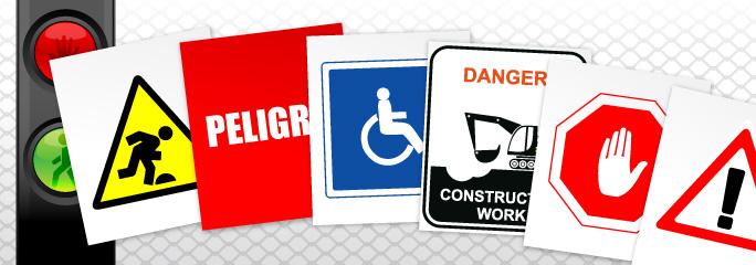 Carteles prevención personalizados