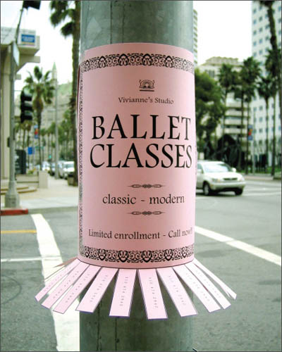 marketing guerrilla ballet