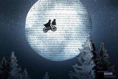 las mejores películas parten de grandes libros, como E.T.