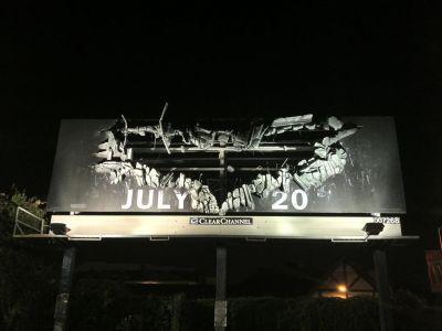 Valla publicitaria impresion gran formato Batman