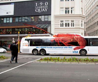 Rotulación publicitaria de vehículo muy creativa