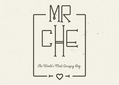 Diseño grafico tipografía MrChe