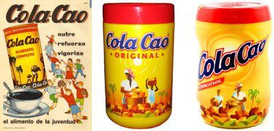 evolución marca cola cao
