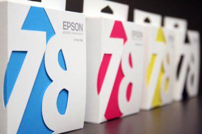 Tinta para impresora en un packaging perfecto