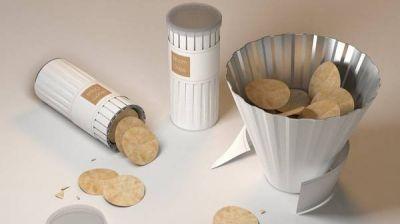 Packaging para cajas de patatas que se convierten en bol