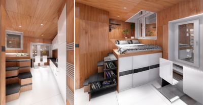 interior de una vivienda-valla de project gregory