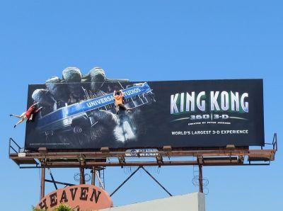 Valla publicitaria gigantes impresión gran formato King kong