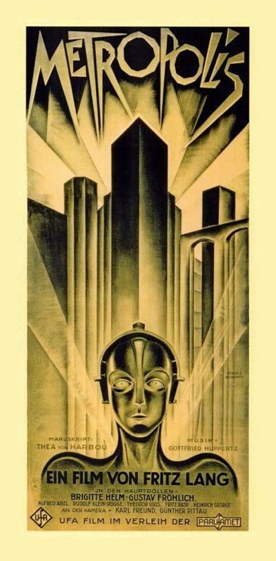 Cartel de cine Metropolis