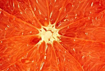 pulpa de una naranja