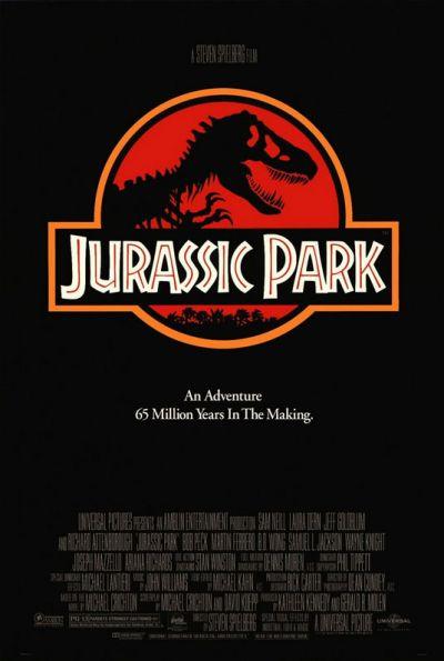 Cartel película Jurasic Park