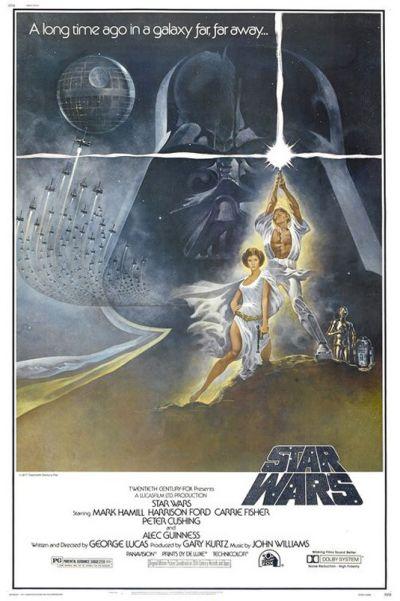 Cartel película Star Wars