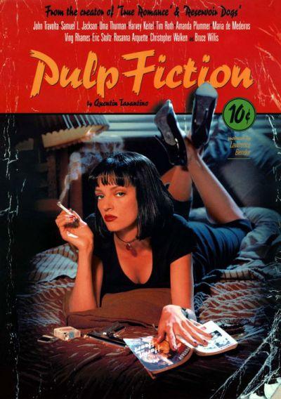 Cartel película Pulp Fiction