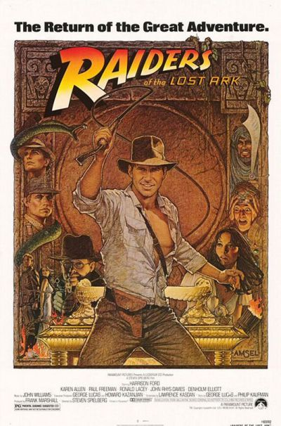 Cartel de cine Raiders
