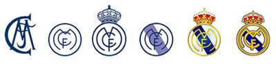 Cambios logotipo Real Madrid