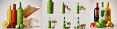 Packaging de botellas de licor