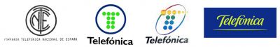 evolución logotipo telefónica