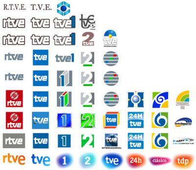 evolución logotipos rtve