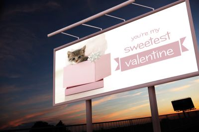 Publicidad san valentín