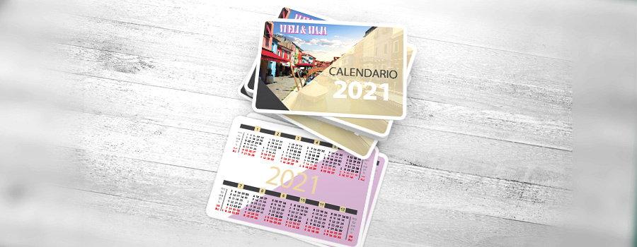 Imprenta calendarios de bolsillo para empresas