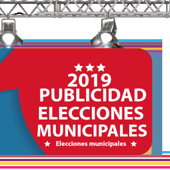 Impresion lonas publicitarias para elecciones municipales