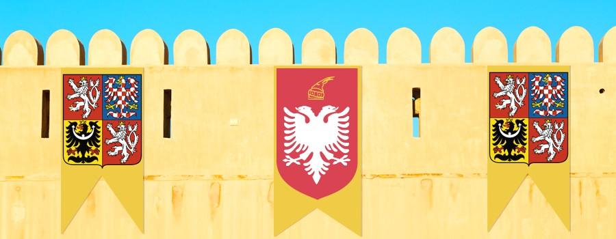 Impresion banderolas medievales