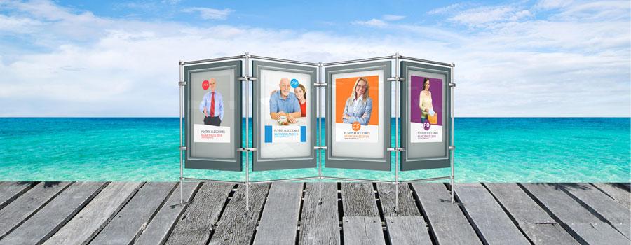 Imprimir carteles politicos para elecciones municipales
