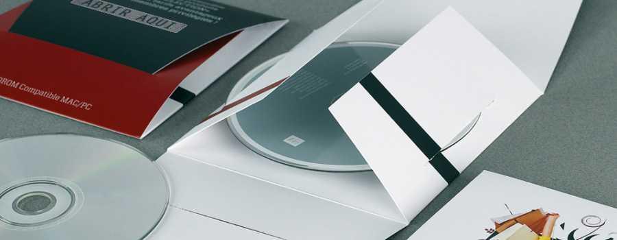 imprenta fundas automontaje para cds