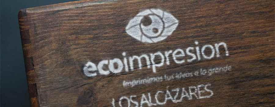 Impresion directa sobre madera ecoimpresion