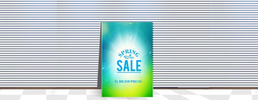 Impresion digital gran formato de carteles para ofertas