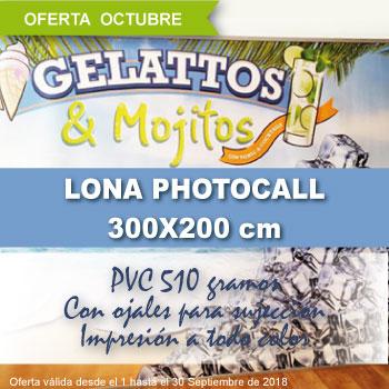 Oferta Especial Lona Photocall 300x200 Cm Solo En Octubre