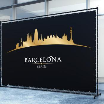 Lonas publicitarias en Barcelona