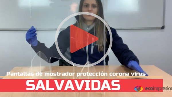 SALVAVIDAS - La pantalla que te protege del Covid 19