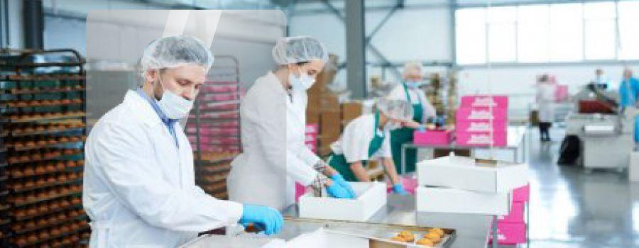 Mamparas para industrias y plantas de elaboración