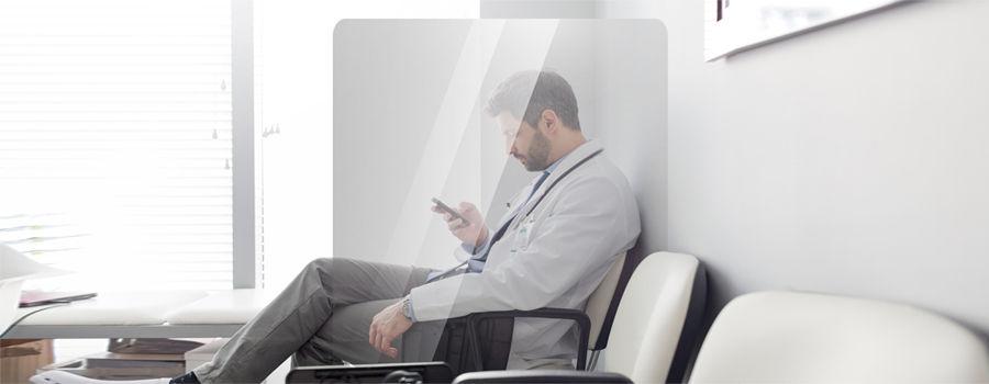 Mamparas de proteccion para salas de espera clinicas y asesorias